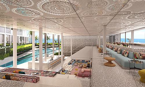 W Ibiza Pool Bar rev